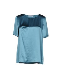 Caractere Blouses Turquoise