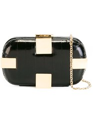 Corto Moltedo Susan Shock Clutch Bag Black