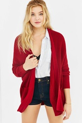 Bdg Parker Shawl Cardigan Red