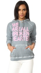 Freecity Broken Hearted Studded Pullover Hoodie Magical Wet Rocks