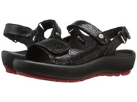 Wolky Rio Black Women's Sandals