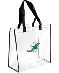 Forever Collectibles Miami Dolphins Clear Tote Bag