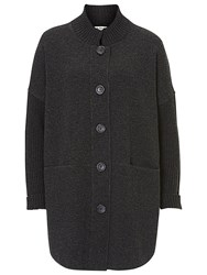 Betty Barclay Long Knitted Cardigan Anthracite Melange