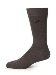 Brioni Ribbed Cotton Socks