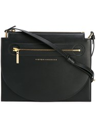 Victoria Beckham Small Crossbody Bag Black