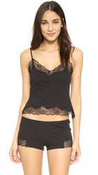 Only Hearts Club Luxe Lace Cami Black Black