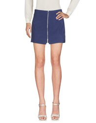 Amanda Wakeley Mini Skirts Dark Blue