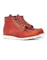 Red Wing Shoes Heritage 6 Inch Classic Moc Toe Leather Tan