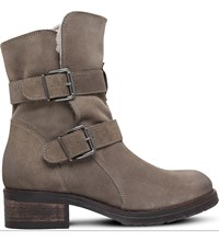 Kurt Geiger Richmond Suede Ankle Boots Taupe