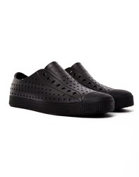 Native Shoes Jefferson Plimsoll All Black