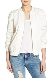 Women's J.O.A. Embroidered Bomber Jacket