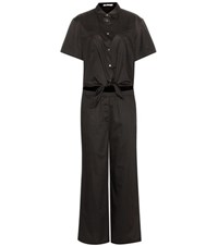 Alexander Wang Cotton Jumpsuit Black