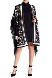 Romeo And Juliet Couture Fringe Poncho Multi