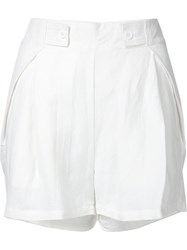 Shades Of Grey By Micah Cohen Casual Shorts White