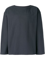 Christophe Lemaire Relaxed Sweatshirt Grey