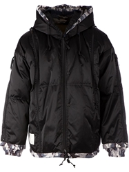 Final Home Camouflage Detail Padded Jacket Black