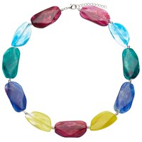 John Lewis Large Beaded Statement Necklace Multi