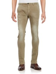 Selected Faded Slim Fit Jeans Brindle