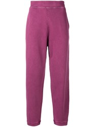 Acne Studios Relaxed Fit Track Pants Pink