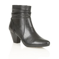 Lotus Larch Ankle Boots Black