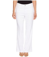 Nydj Petite Wylie Trousers In Optic White Optic White Women's Jeans