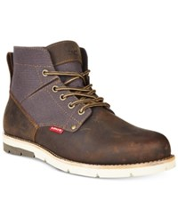 Levi's Men's Jax Canvas Boots Men's Shoes Charcoal