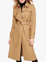 Damsel In A Dress Eleni Belted Trench Coat Camel