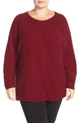Plus Size Women's Sejour Wool And Cashmere Dolman Sleeve Sweater