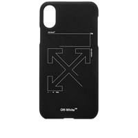 Off White Unfinished Arrows Iphone X Case Black