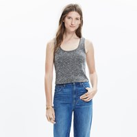 Madewell Cross Back Crop Top