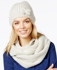 Rampage Lurex Hat And Infinity Loop Gift Set