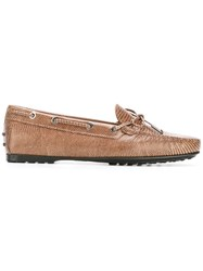 Tod's Classic Loafers Brown