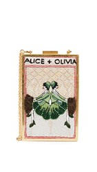 Alice Olivia Sophia Vintage Twins Clutch Multi