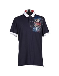 Napapijri Polo Shirts Dark Blue