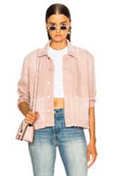 Amo Scout Jacket In Pink