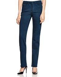 Nydj Marilyn Straight Leg Jeans In Teal Shadow