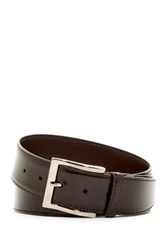 A. Testoni Lux Calf Leather Belt Brown
