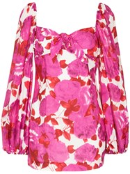 Alice Mccall Floral Dress Pink