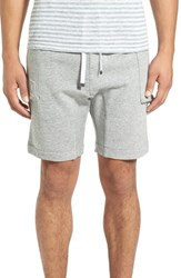 Zanerobe Men's 'Salerno M.U.' Slouchy Knit Cargo Shorts Grey Marle