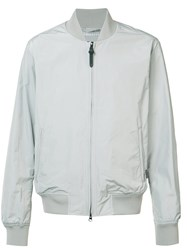 Woolrich 'Shore' Bomber Jacket Grey