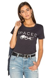Clayton Spaced Out Tee Charcoal