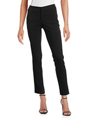 Lord And Taylor Petite Kelly Slim Pants Black