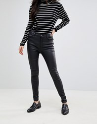 B.Young Coated Jeans Black
