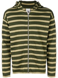 S.N.S. Herning Fundamental Zipped Hoodie Green