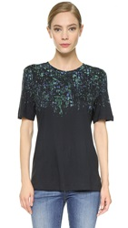Jason Wu Printed T Shirt Black Multi