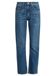 Brock Collection Wright Straight Leg Jeans Denim