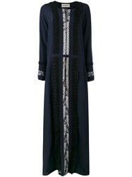 Antonia Zander Aleak Maxi Dress Blue