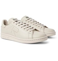 Raf Simons Adidas Originals Stan Smith Leather Sneakers Sand