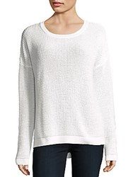 French Connection Dinka Knit Sweater White