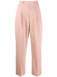 Polo Ralph Lauren Straight Leg Trousers Pink